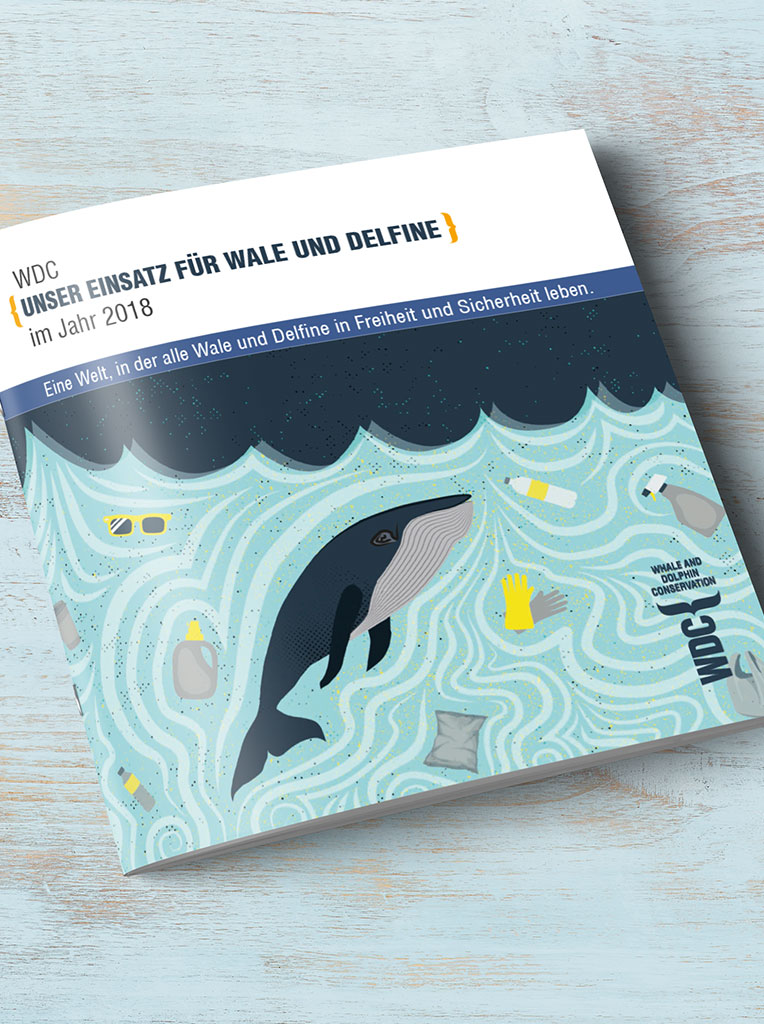 WDC, Whale and Dolphin Conservation, Cover